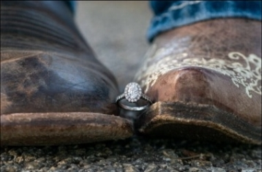 C & Z engagement | Ring | Boots