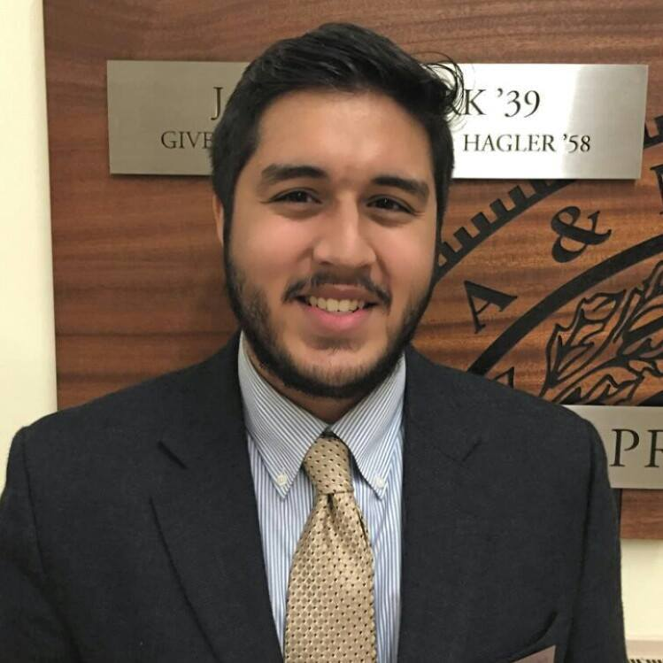Hasan Mahdi '16 -  Executive Vice President, Foundation   From:  Sugar Land, TX   In NYC:  Brooklyn, Williamsburg   What I did at A&M:  Fish Camp, MSC LEAD, Student Bonfire   What I do in NYC:  Data Analysis