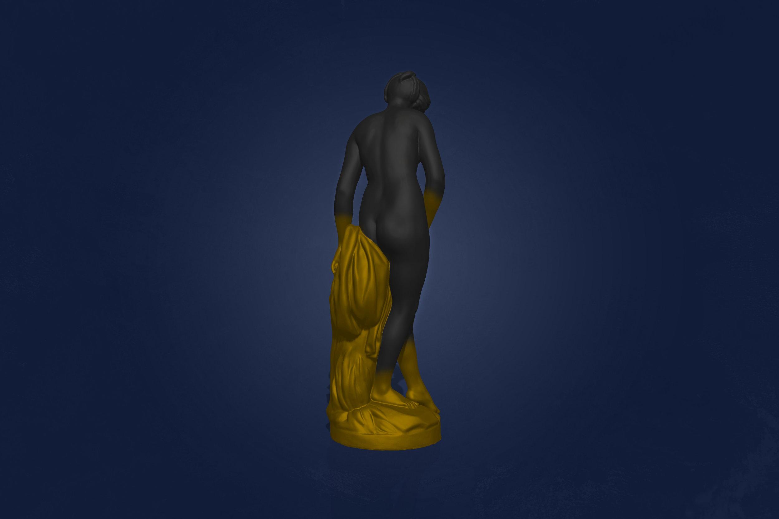 The Bather by Joseph Malfettone Back Right.jpg