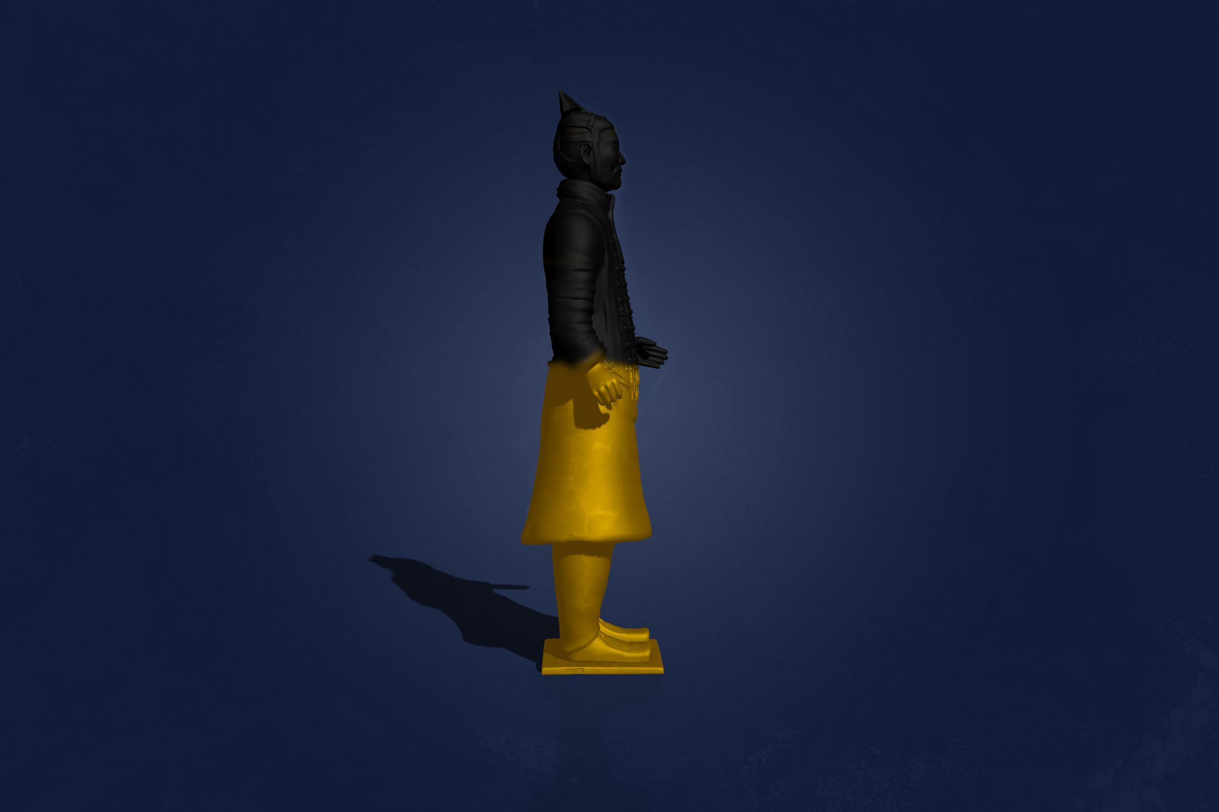 Terracotta Warrior by Joseph Malfettone Right Side.jpg