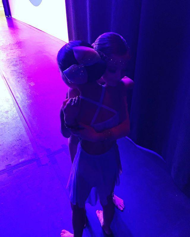 Starting off day 3 in Warren with hugs from the best dance friends! 💙 #ocfam