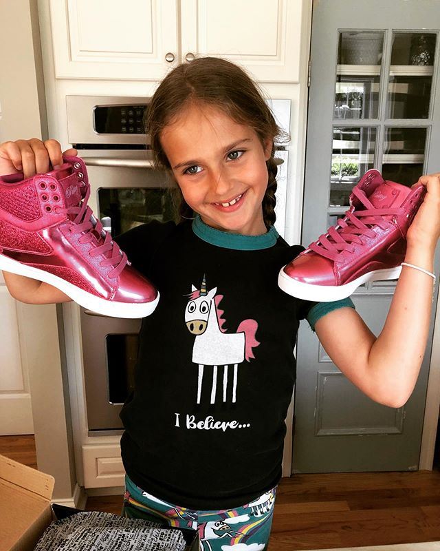 Someone was excited to received their FREE @lovepastry sneakers that she won in Warren, NJ. #opencallcompetition #warren19 #ocfam #hiphop #dance