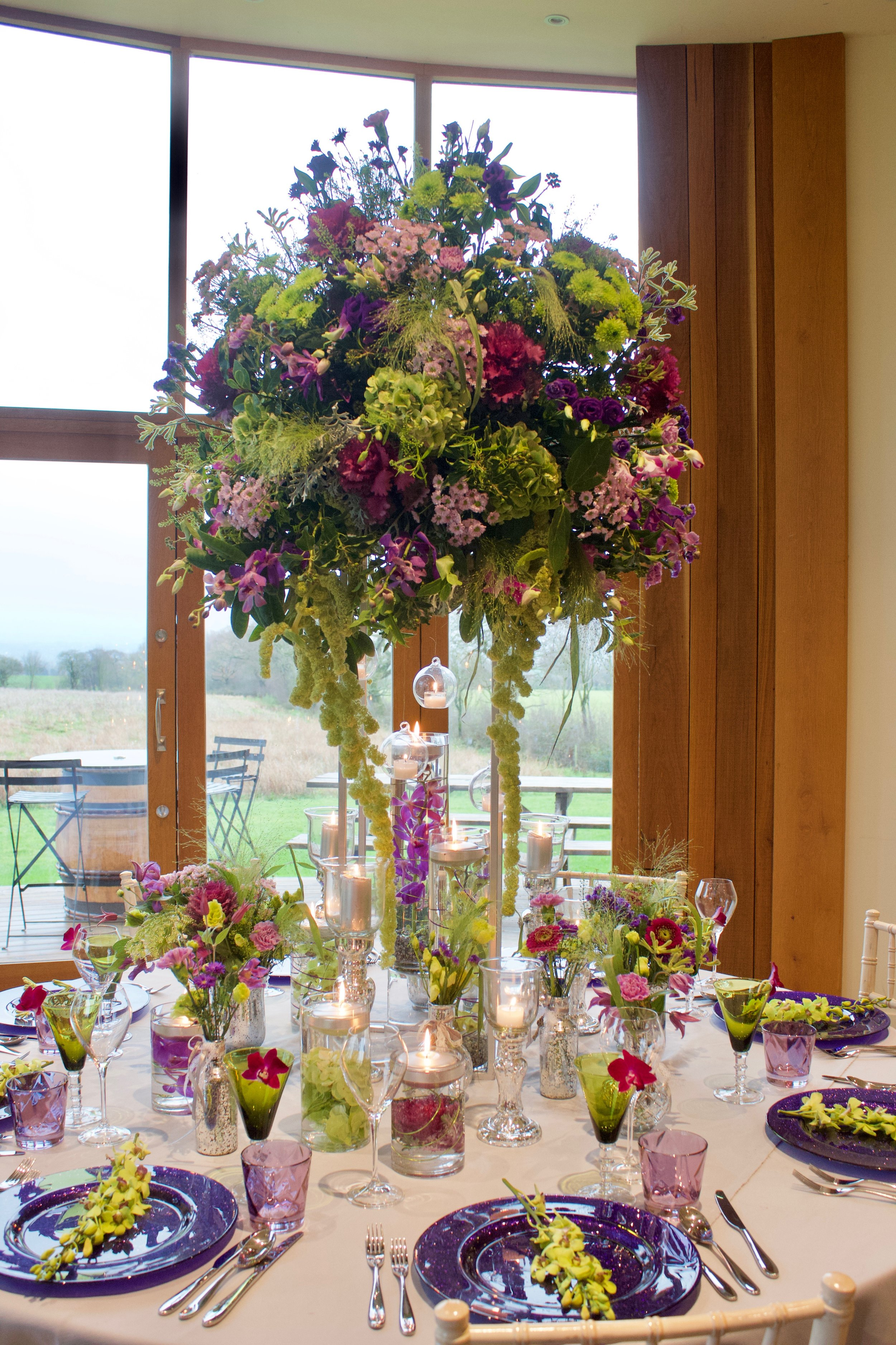 Table Centres - Tall -