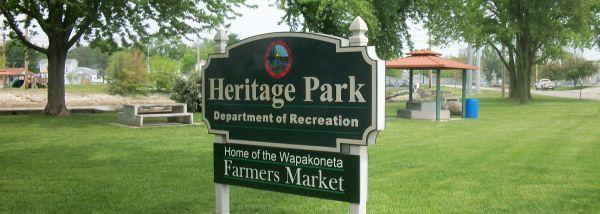 The  Farmer's Market  in Wapakoneta, OH – one of many Nadja hopes to see this summer.