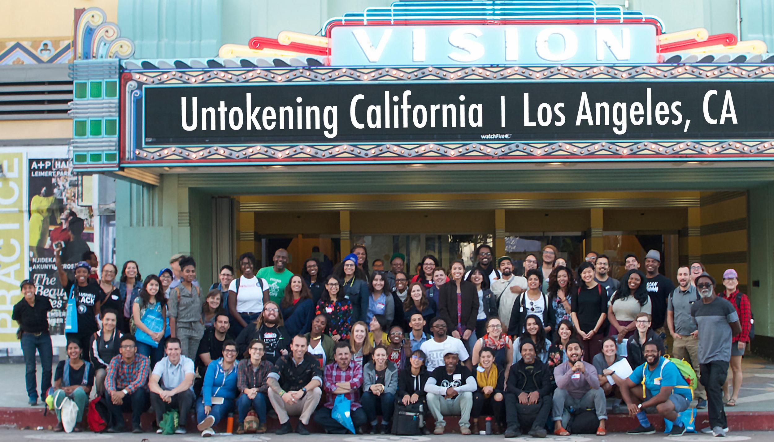 Untokening California, photo by Michael Anaya