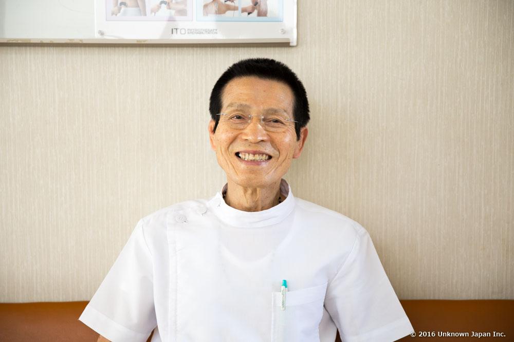 kimiyoshi onsen, owner