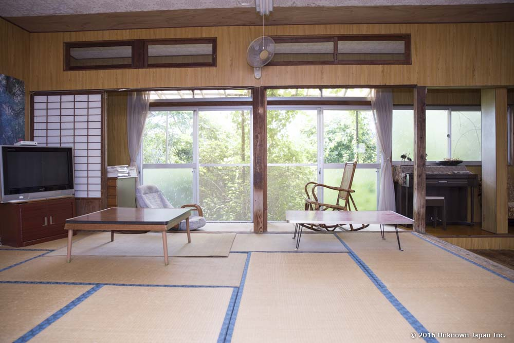 Yonemaru Onsen, relaxation room