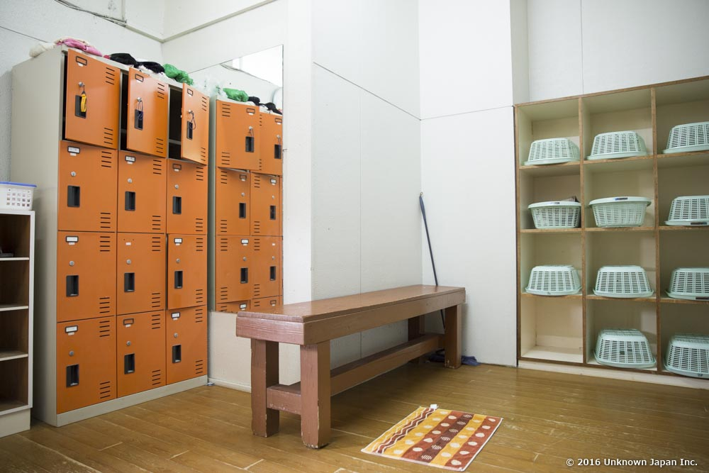 Yunohana Onsen, locker