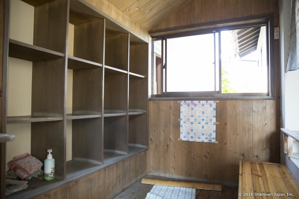Yajigayu Onsen, dressing room