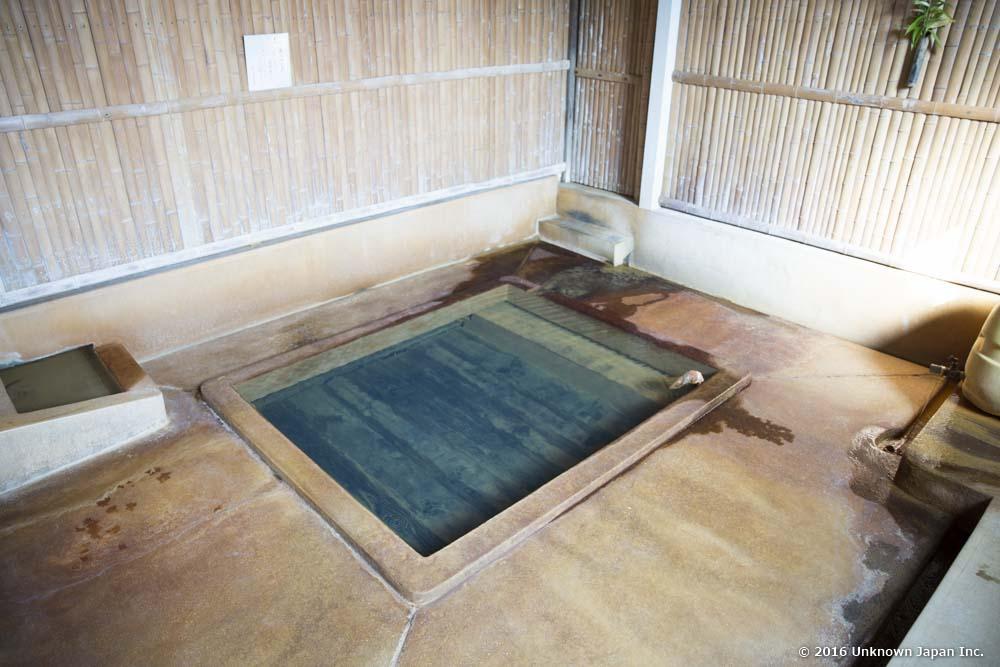 Yajigayu Onsen, bath