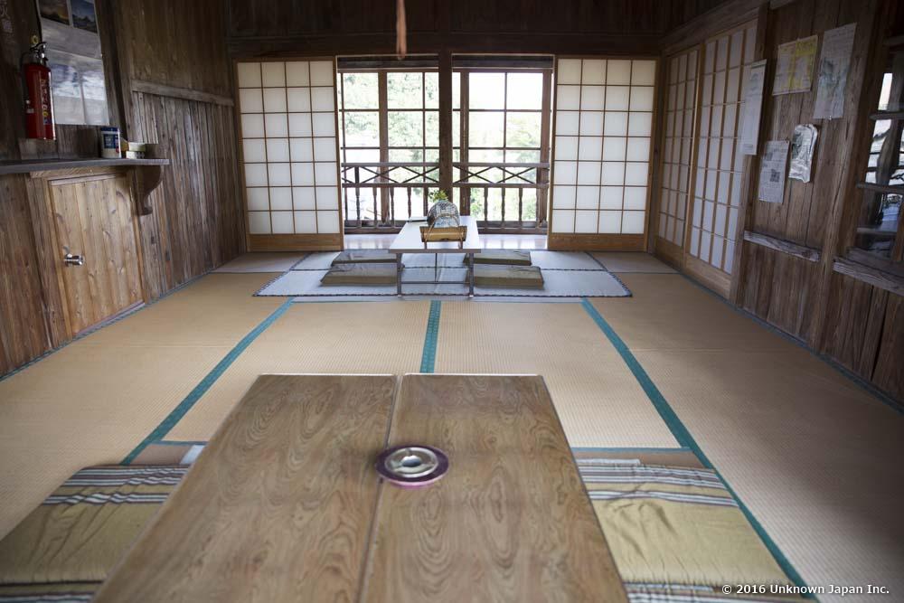 Yajigayu Onsen, lounge