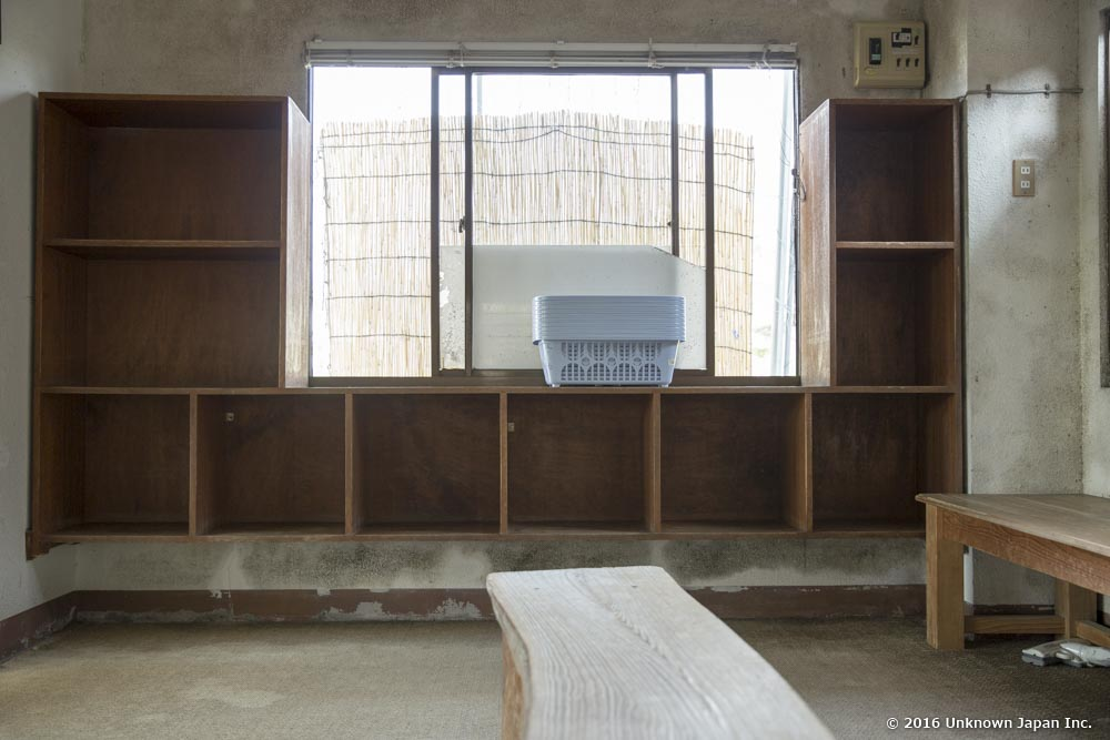 Nigatsuden Onsen, dressing room