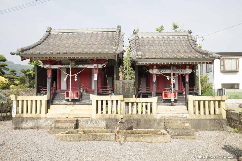 Nigatsuden Onsen, shirine
