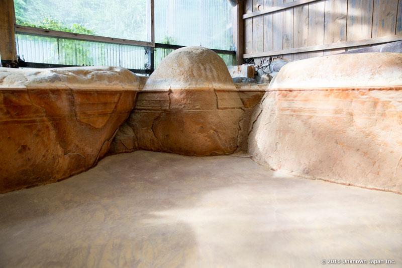 TM Onsen, empty bath