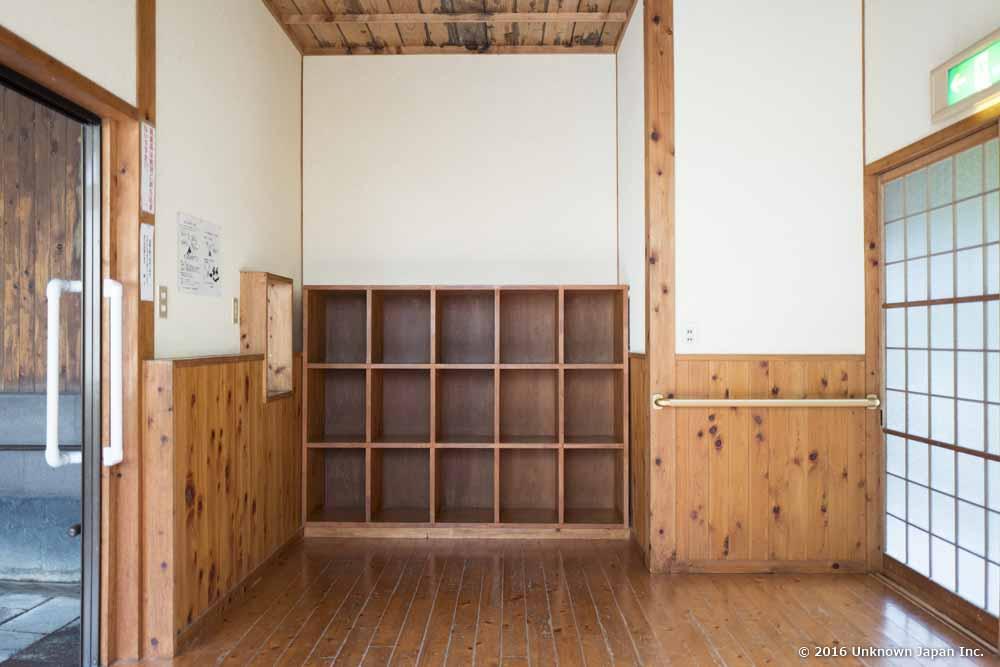 Nansyukan, dressing room