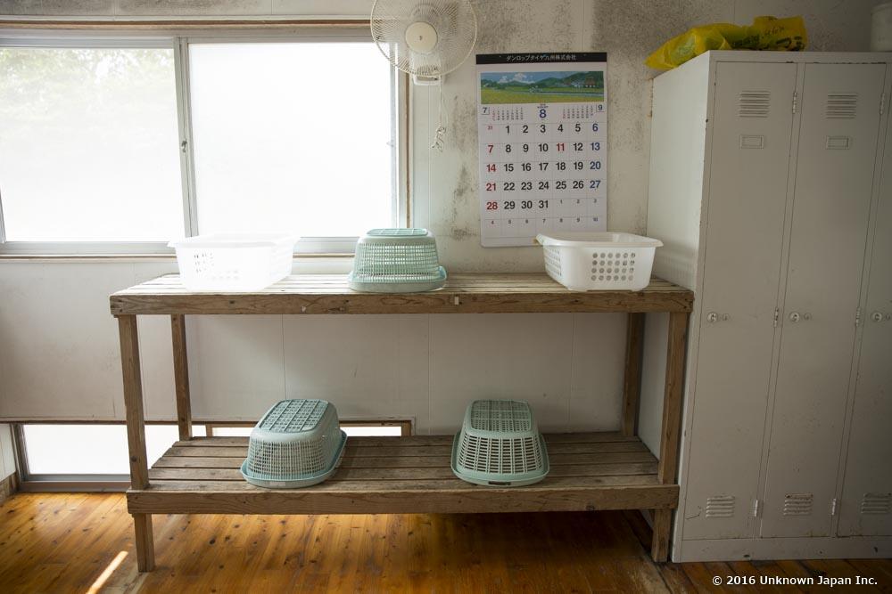 Fukujyu Onsen, dressing room