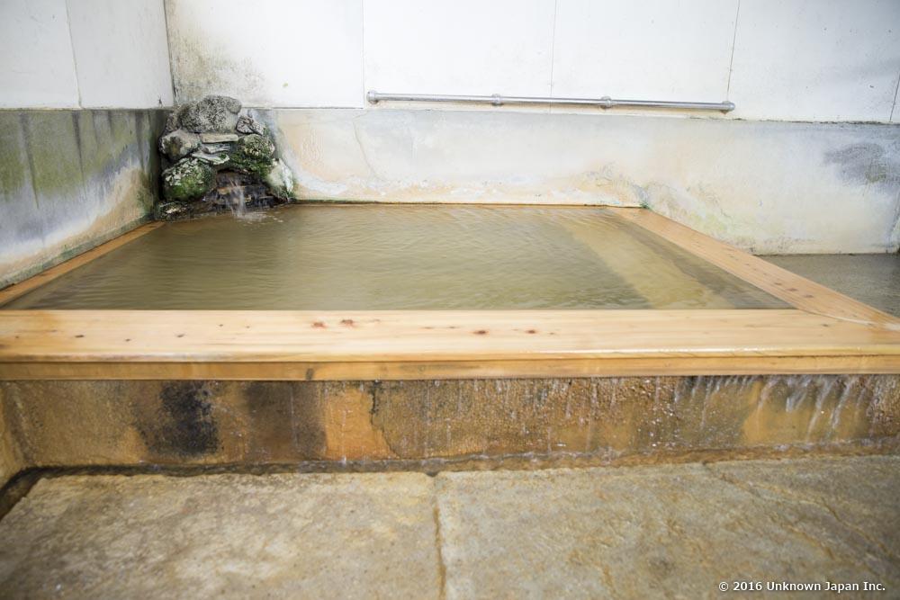 Fukujyu Onsen, bath