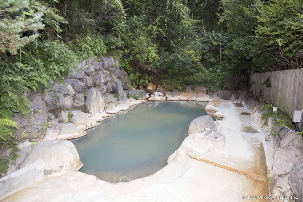 Kiraku Onsen, open-air bath