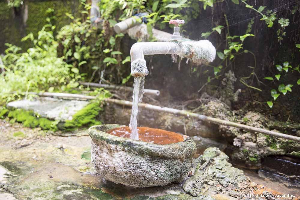 Kiraku Onsen, hot spring source