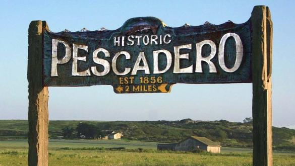 Historic Pescadero Sign