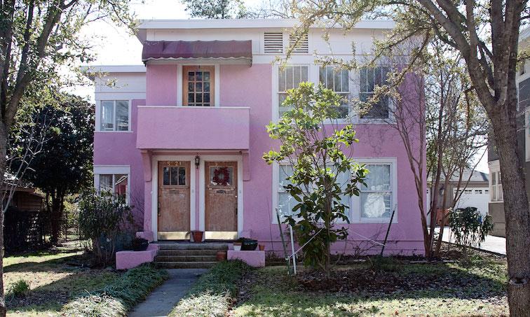 Pink Duplex