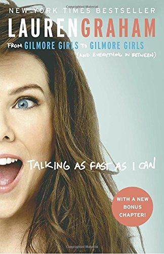 "Best CELEBRITY MEMOIR - I adore Lauren Graham and loved getting a peek into life behind the scenes of Gilmore Girls and Parenthood. Easy, quick read. Excerpt: In Talking as Fast as I Can, Lauren Graham hits pause for a moment and looks back on her life, sharing laugh-out-loud stories about growing up, starting out as an actress, and, years later, sitting in her trailer on the Parenthood set and asking herself, ""Did you, um, make it?"" She opens up about the challenges of being single in Hollywood (""Strangers were worried about me; that's how long I was single!""), the time she was asked to audition her butt for a role, and her experience being a judge on Project Runway (""It's like I had a fashion-induced blackout"")."