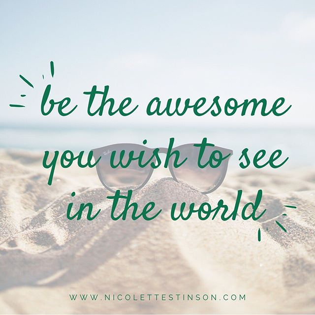 What would make today awesome? 😎 ⠀⠀⠀⠀⠀⠀⠀⠀⠀ It can be tempting to wake up and think of the list of things you have to do to get where you want to go or even worry about what could go wrong. What if instead you asked yourself... what if things were already going really, really right? What does that look like? ⠀⠀⠀⠀⠀⠀⠀⠀⠀ And what if instead of it happening to you it was happening by you? What if you could BE the awesome you are wishing for? What if you were the version of yourself today that was having the most awesome day of your life? What would that look like? What does it feel like? What would you do? What would you believe? #beawesometoday 🙌