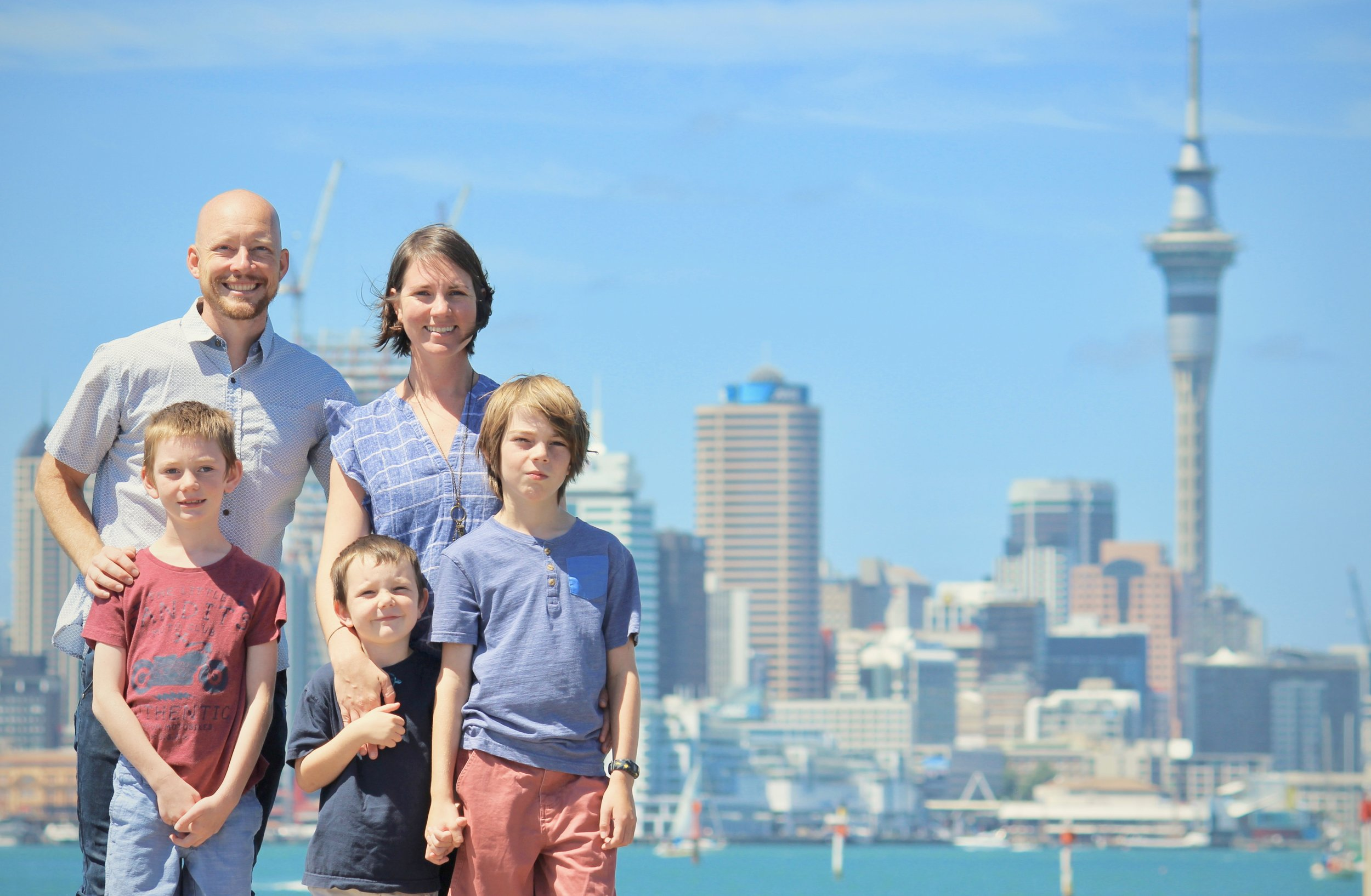 The Peters Family   AUCKLAND, NEW ZEALAND   Read Most Recent News Here
