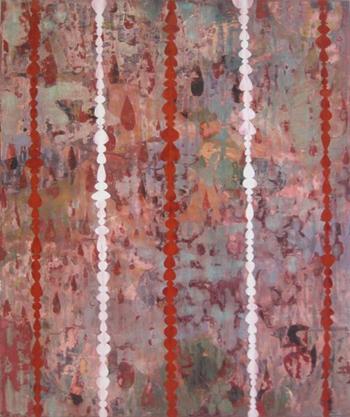 Perry Burns  Kubla Kahn ,2008 oil on canvas 64 x 54 in.