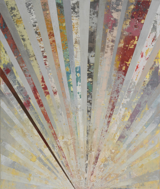 Perry Burns  Aurora ,2010 oil on canvas 64 x 54 in.