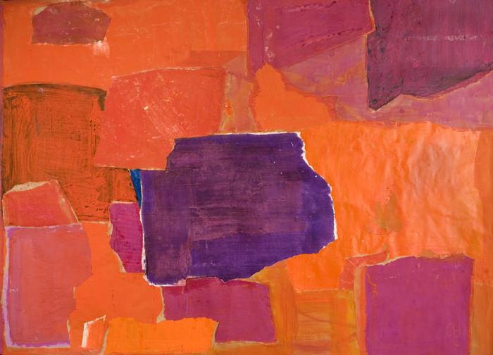 Charlotte Culot  Perigrinatio ,2012 mixed media on paper 46 x 62 1/4 in.