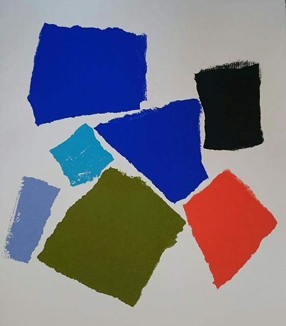 Charlotte Culot  Color Field , 2016 serigraph 29 1/2 × 22 in. edition of 10