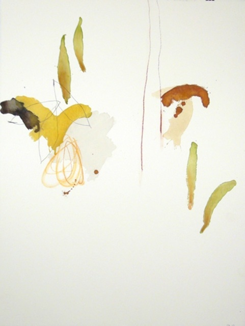 Michael Rich  Tuscania Drawing 92 , 2007 mixed media on paper 30 × 22 in.