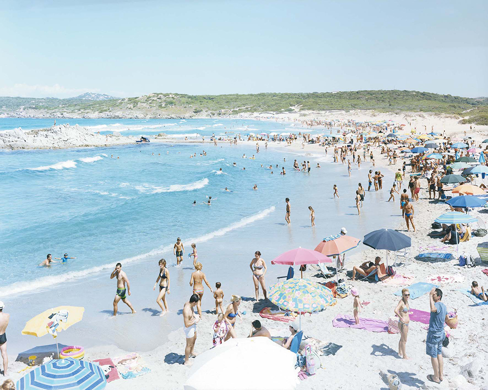 Massimo Vitali  Rena Majori,  2014 chromogenic print 35 x 45 in.  edition of 35