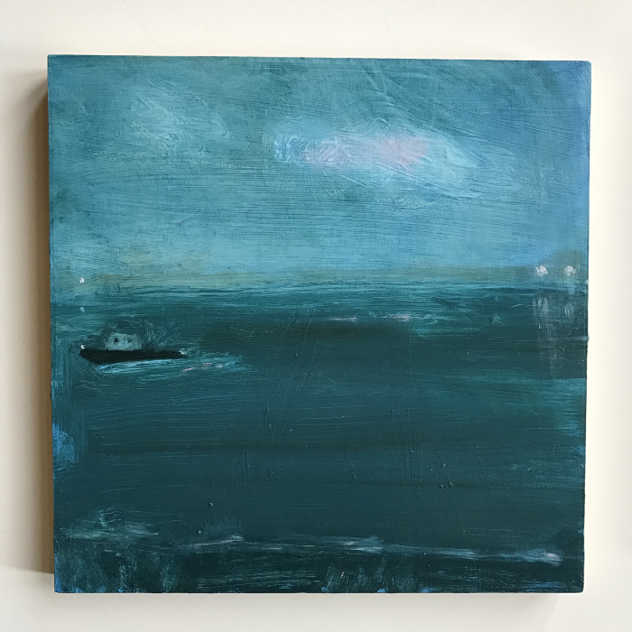 Kathryn Lynch  Untitled 3 ,2016 oil on panel 10 x 10 in.