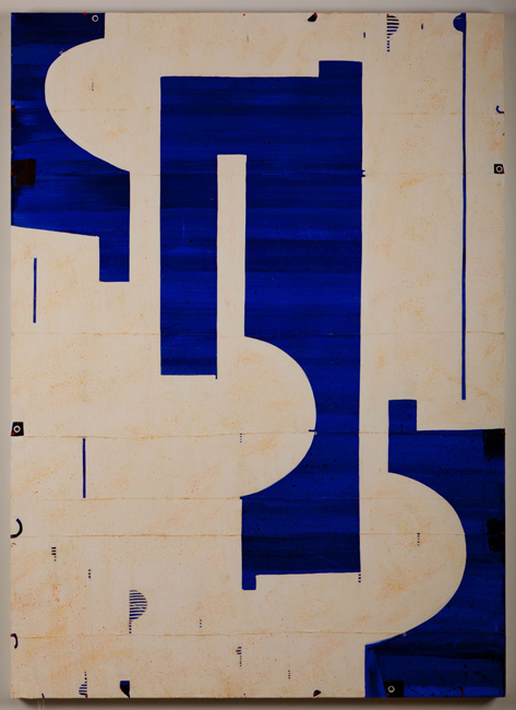 Caio Fonseca  Pietrasanta C10.51, 2010 mixed media on canvas 72 x 52 in.