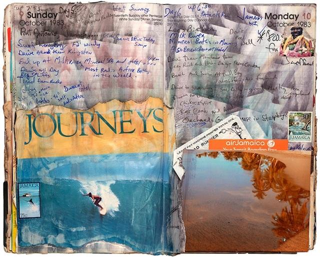 Tony Caramanico  Journeys, October 9, 1983 , 2014 available as: 16 1/4 x 18 3/4 in. print (edition of 12) 27 x 33 in print (edition of 12) 34 x 43 in. stretched canvas print (edition of 7) 4 x 55 1/4 in. stretched canvas print (edition of 3)