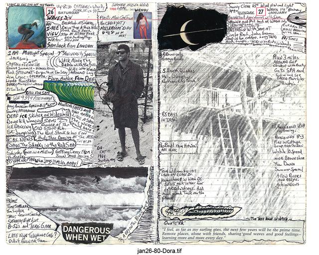 Tony Caramanico  Dora, January 26, 1980 , 2014 available as: 16 1/4 x 18 3/4 in. print (edition of 12) 27 x 33 in. print (edition of 12) 34 x 43 in. stretched canvas print (edition of 7) 4 x 55 1/4 in. stretched canvas print (edition of 3)