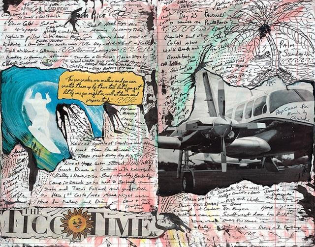 Tony Caramanico  Tico Times, April 4, 2009 , 2014 available as: 16 1/4 x 18 3/4 in. print (edition of 12) 27 x 33 in. print (edition of 12) 34 x 43 in. stretched canvas print (edition of 7) 4 x 55 1/4 in. stretched canvas print (edition of 3)