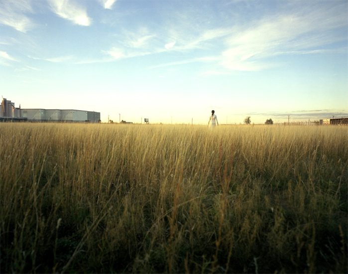 Bastienne Schmidt  Movie Theater in a Field, Amarillo, 2004 , 2004 c-print 30 x 40 in. (edition of 9) 20 x 24 in. (edition of 15) 16 x 20 in. (edition of 25)