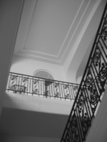 Charlie Ruger  Staircase (Cap d'Antibes) , 2005 digital c-print 20 x 24 in. 30 x 40 in.