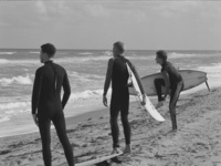 Charles Ruger  Assessment (Palm Beach) , 2004 gelatin silver print 16 x 20 in. 30 x 40 in.