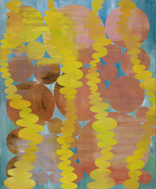 Perry Burns  Helium , 2014 oil on canvas 72 × 59 in.