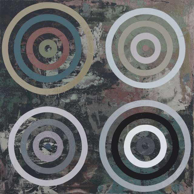Perry Burns  Zed,  2013 monoprint, gouache, graphite, and watercolor on paper 20 × 20 in.