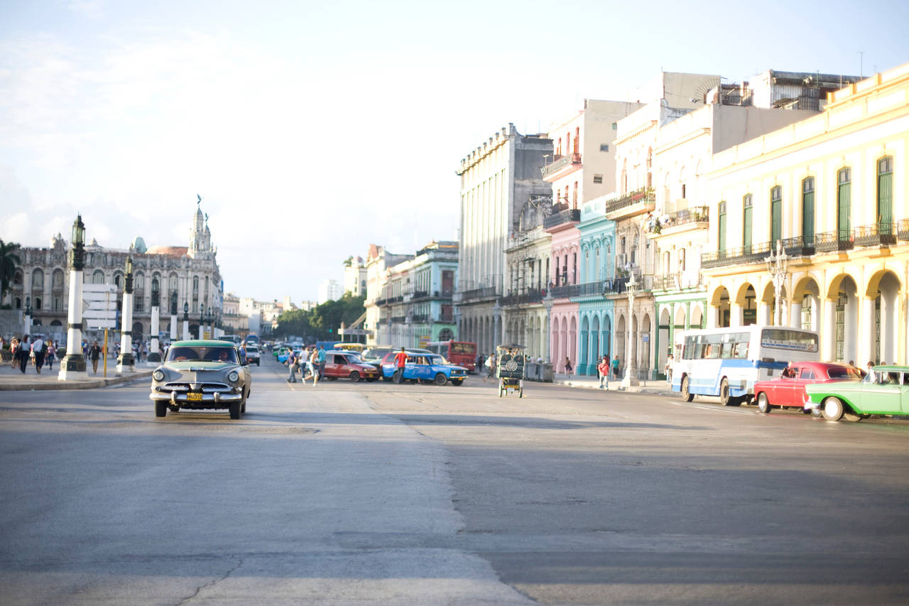 Geoff Reinhard  Downtown Havana , 2012 archival pigment print 30 x 44 in. additional sizes available editions of 15