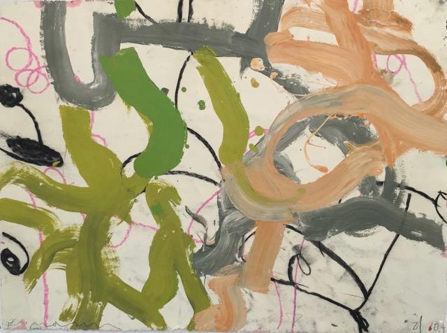 Gary Komarin  Duke & Wigmore , 2003 oil on canvas 23 x 30 in.