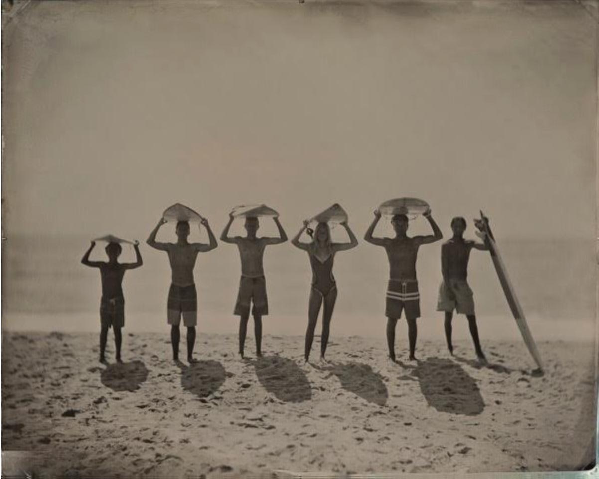 Joni Sternbach  Present Future , 2016 unique tintype 16 x 20 in.