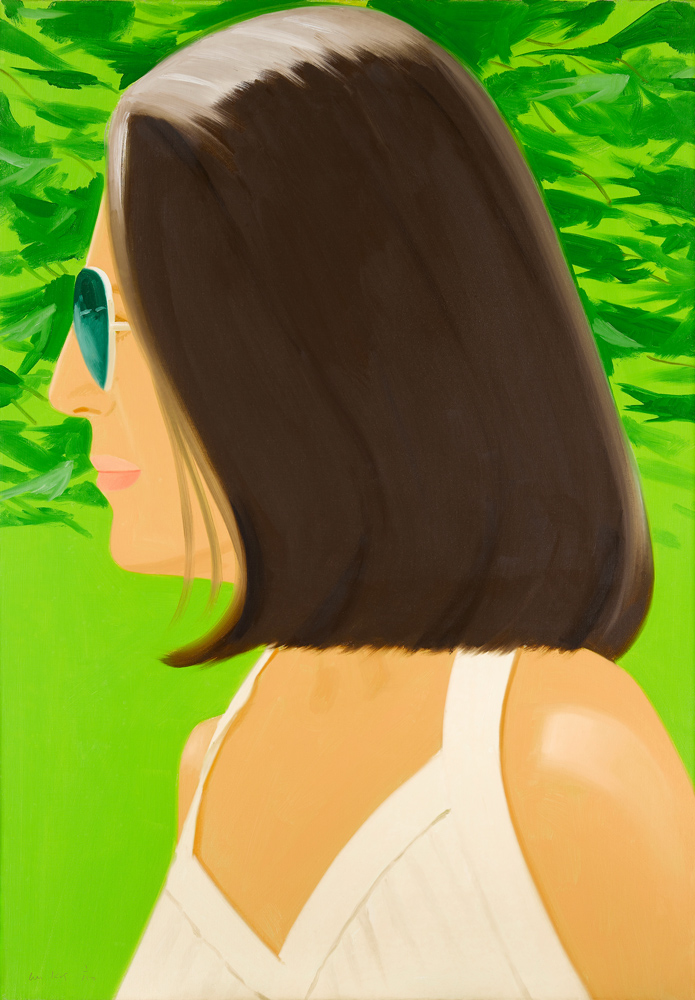 ALEX KATZ  Ada in Spain,  2018 archival pigment inks on Crane Museo Max 365 gsm fine art paper 46 x 32 in.