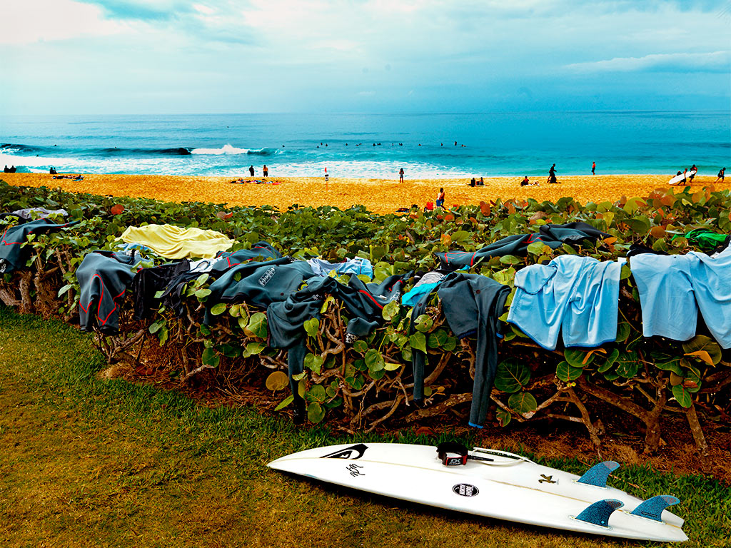 Thom Gilbert  Pro Surfers Suits (North Shore, Oahu)  archival ink jet print with archival pigment ink on all cotton acid free paper 24 x 30 in.  also available in 17 x 22 in.  edition of 100