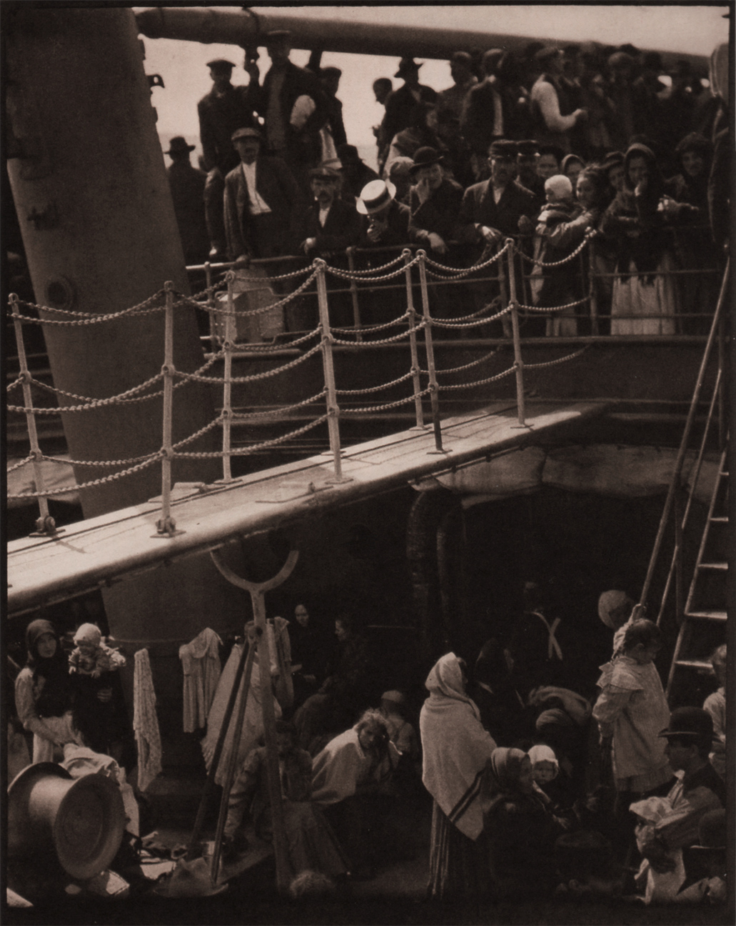 """ The Steerage "" by Alfred Stieglitz"